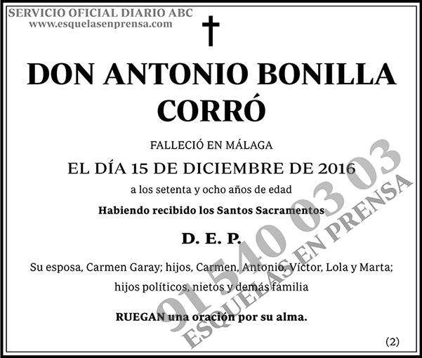 Antonio Bonilla Corró